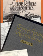 Covers of LAC publications: Catalogues of Census Returns on Microfilm