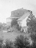 Photograph of Sir�John�A.�Macdonald's residence near Rivière-du-Loup, Quebec, n.d.